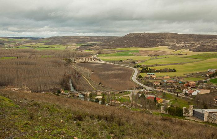 Vista desde la Necrópolis