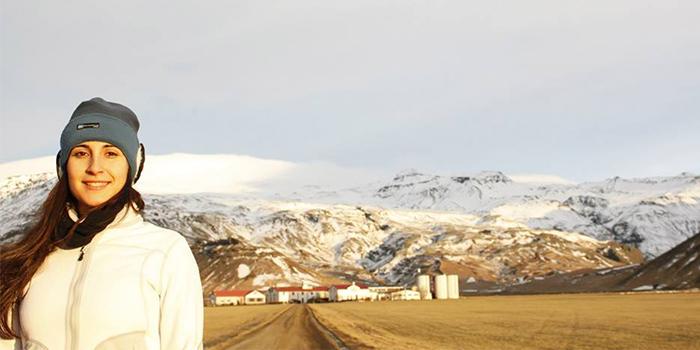 A los pies del volcán Eyjafjallajökull, Islandia