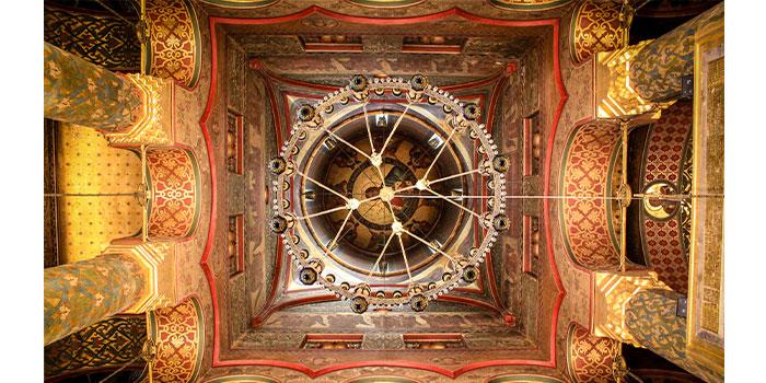 Monasterio-Curtea-Arges-Interior