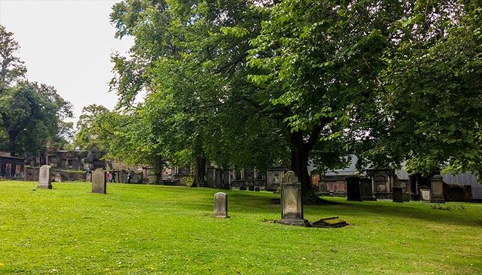 cementerio Greyfriars Edimburgo