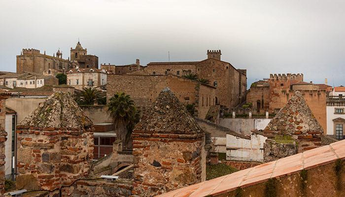 Vista desde la Torre de Bujaco