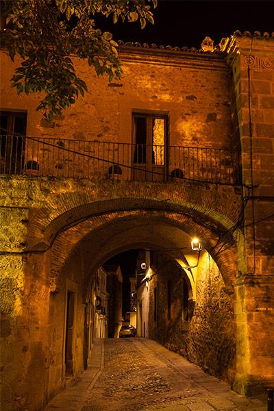 Visita nocturna a la Ciudad Vieja