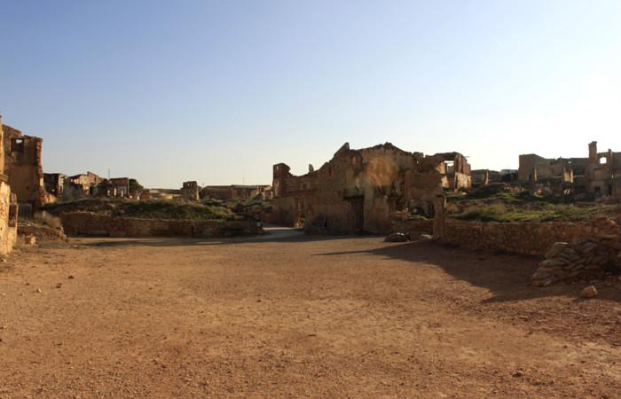 Belchite desierto