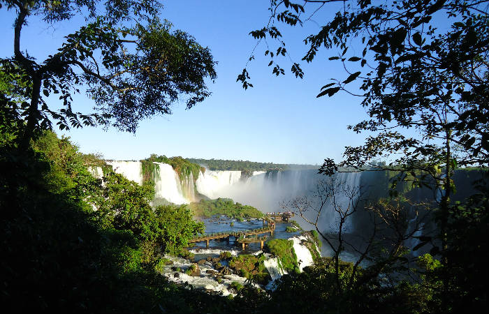 Panorámica de las Cataratas Iguazú