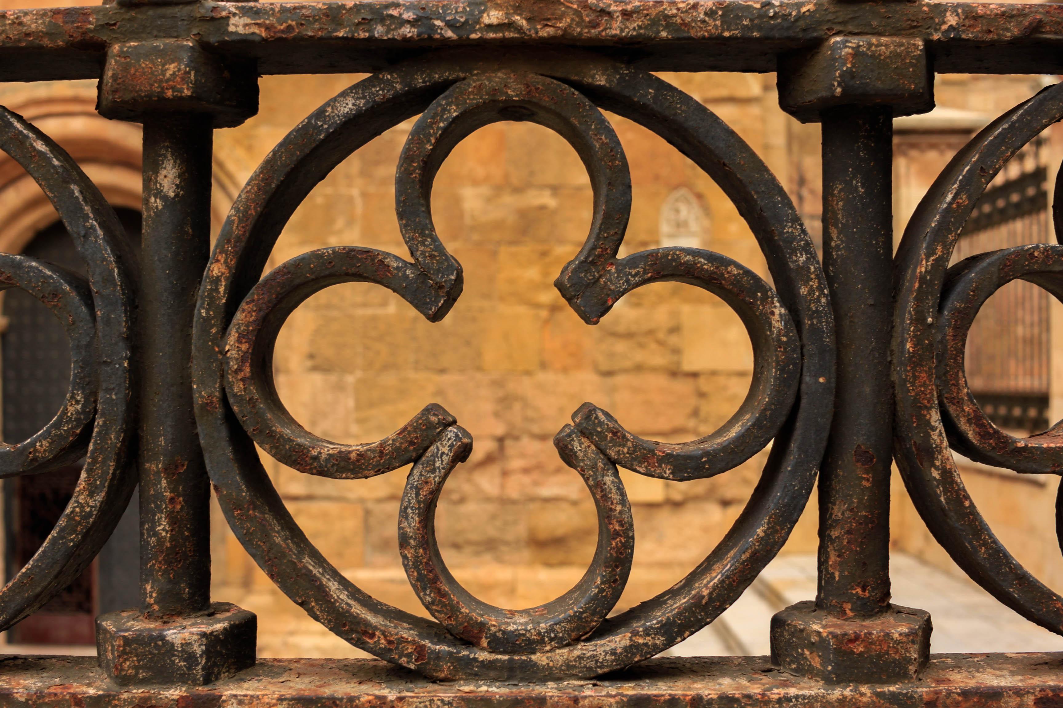 Detalle de la rejería de la Catedral de Tarragona