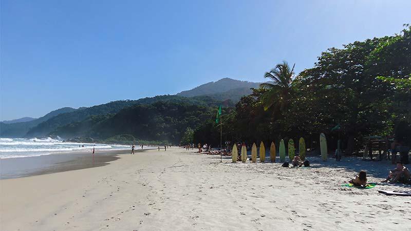 Playas eternas en Ilha Grande