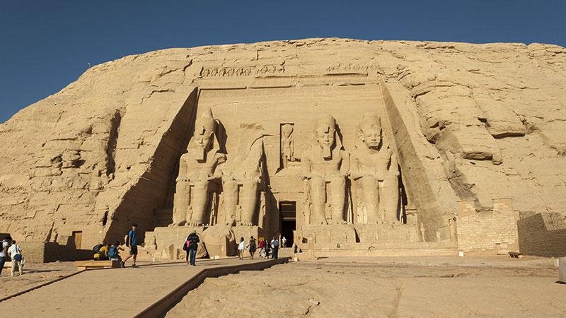 Egipto - Entrada principal al Templo de Ramses II