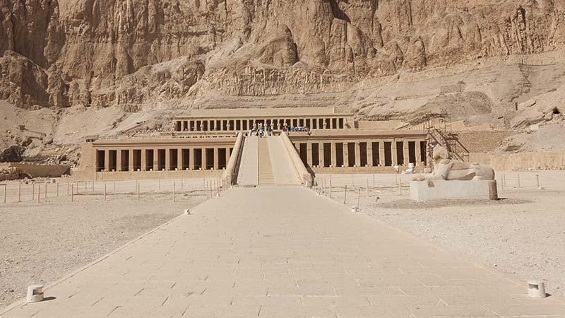 Egipto - Templo de Hatshepsut