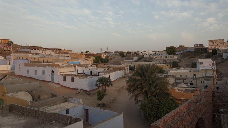 Egipto - Amanecer en el Pueblo Nubio