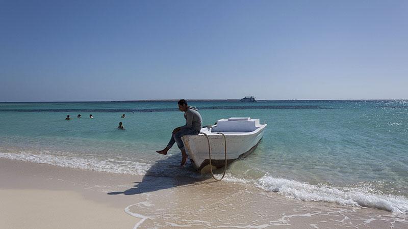 Egipto - Agua cristalina en el Mar Rojo