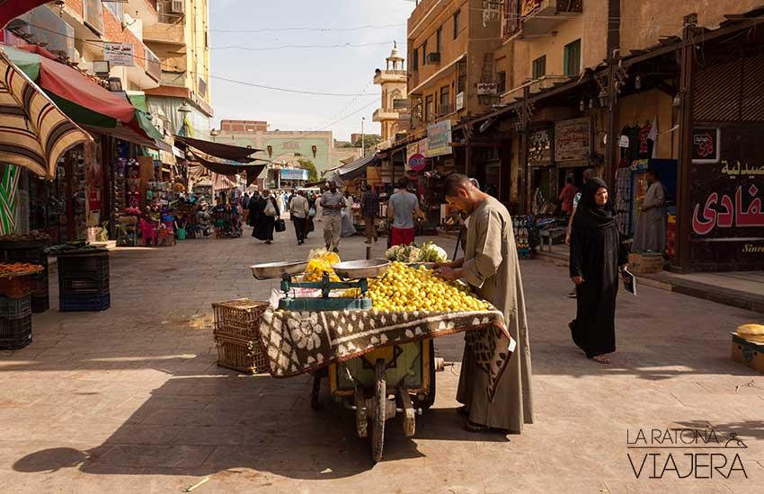 mercado de aswan