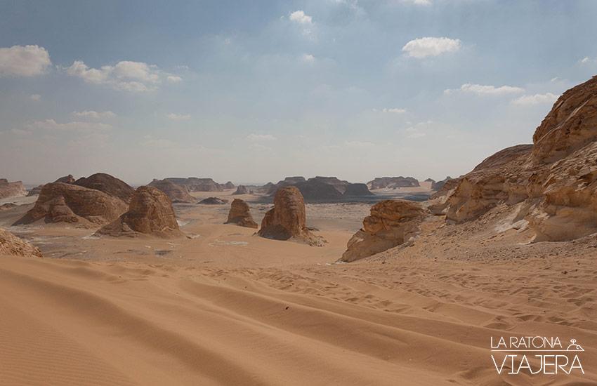 Valle de Agabat Egipto