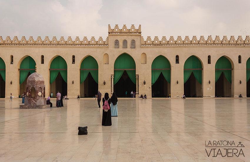mezquita El Hakim - El Cairo
