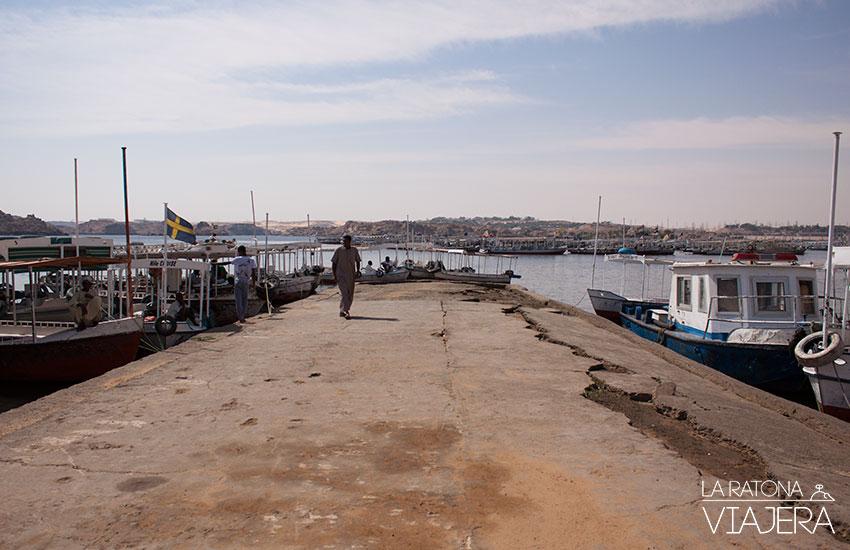 Egipto_Aswan_embarcaciones