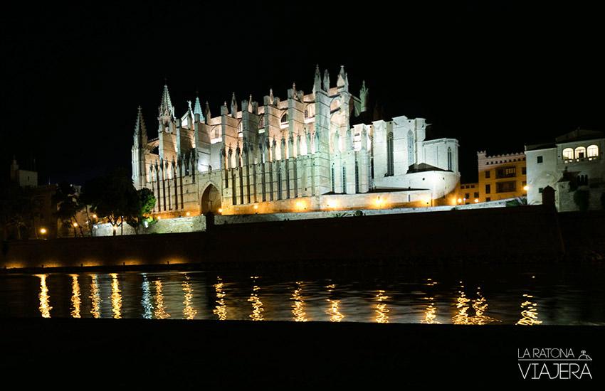 catedral-de-mallorca-de-noche