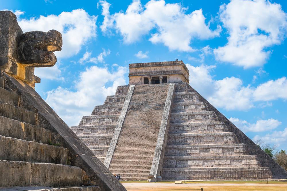 Viaje a Cancun piramide